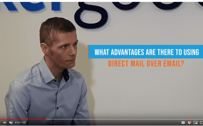 What advantages are there using direct mail over email?