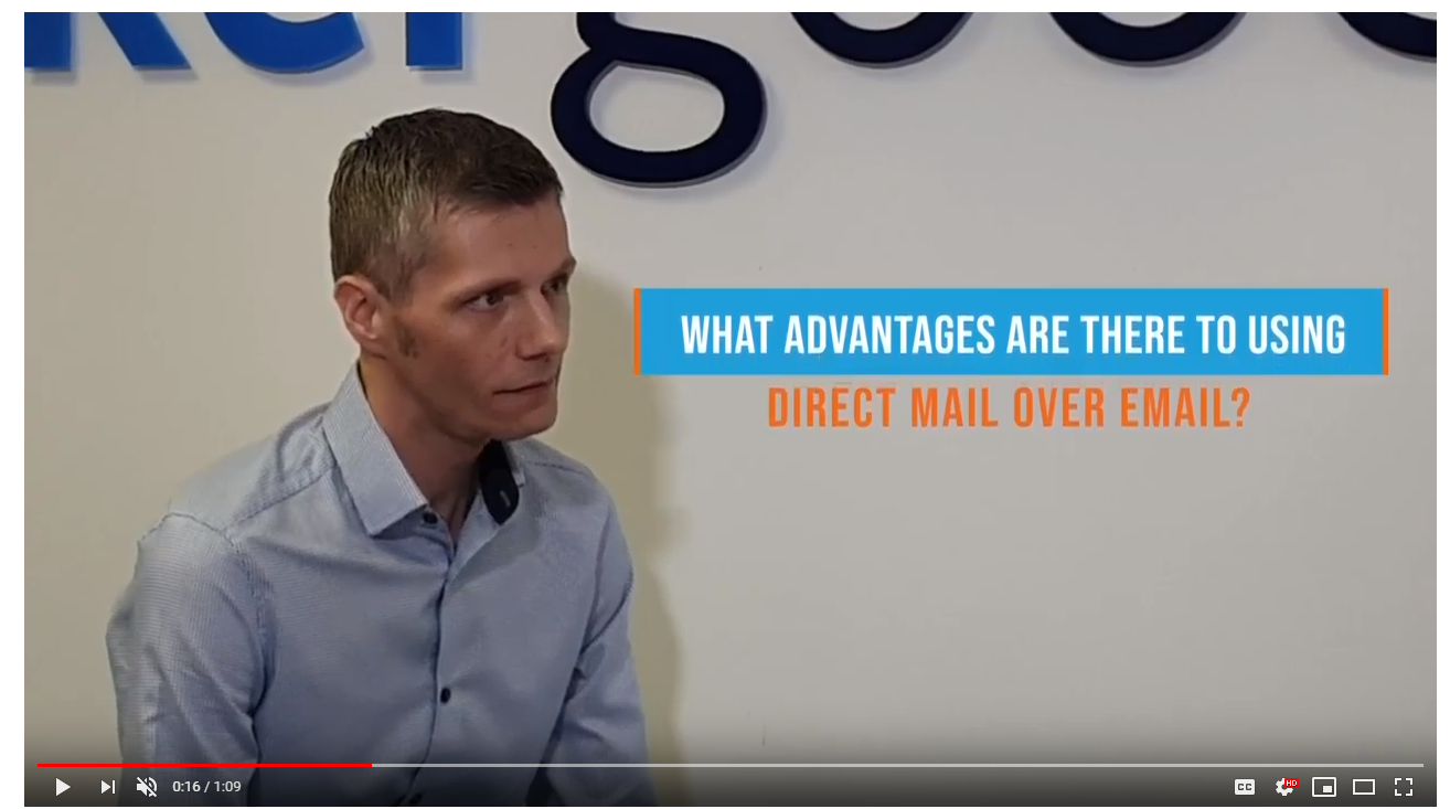Advantages of direct mail